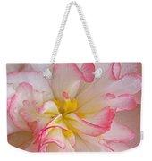 Begonia Pink Frills - Horizontal Weekender Tote Bag