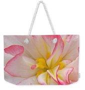 Begonia Pink Frills - Vertival Weekender Tote Bag