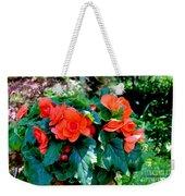 Begonia Plant Weekender Tote Bag
