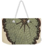 Begonia Rex, Variety Isis Weekender Tote Bag