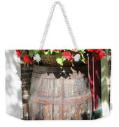 Begonias In The Barrel Weekender Tote Bag
