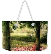 Behind Our House Weekender Tote Bag