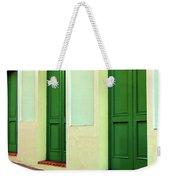 Behind The Green Doors Weekender Tote Bag