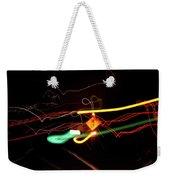 Behind The Lights Weekender Tote Bag