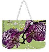 Behind The Orchids Weekender Tote Bag