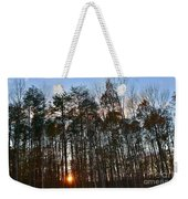 Behind The Trees Weekender Tote Bag