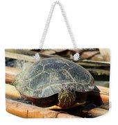 Behold The Turtle Weekender Tote Bag
