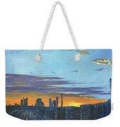Bei Jing Sunset Weekender Tote Bag