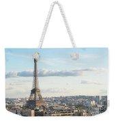 Paris Roofs And Tower Weekender Tote Bag