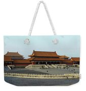 Beijing City 28 Weekender Tote Bag