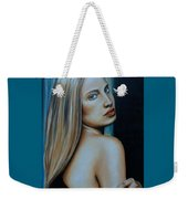 Being Emma, Nude Portrait Art Weekender Tote Bag
