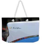 Bel Air Blue Weekender Tote Bag