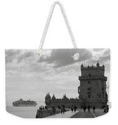 Belem And The Boat Weekender Tote Bag