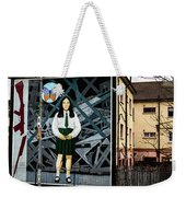 Belfast Mural - Butterfly - Ireland Weekender Tote Bag