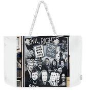 Belfast Mural - Civil Rights - Ireland Weekender Tote Bag