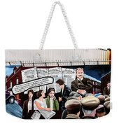 Belfast Mural - Headlines - Ireland Weekender Tote Bag