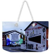 Belfast Mural - No More Weekender Tote Bag