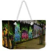 Belfast - Painted Wall - Ireland Weekender Tote Bag