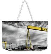 Belfast Shipyard 2 Weekender Tote Bag