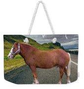 Belgian Horse Weekender Tote Bag