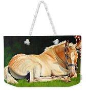 Belgian Horse Foal Weekender Tote Bag