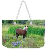 Belgian In Flowers Weekender Tote Bag