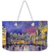 Belgium Brussel Grand Place Grote Markt Weekender Tote Bag