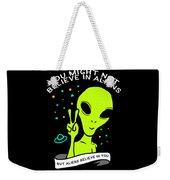 Believe In Aliens Gift Weekender Tote Bag