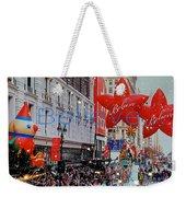 Believe Macys  Parade Weekender Tote Bag