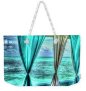Belize Curtains #1 Weekender Tote Bag