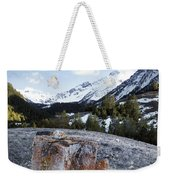 Bell Mountain Weekender Tote Bag