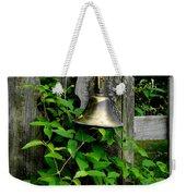 Bell On The Garden Gate  Weekender Tote Bag