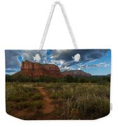 Courthouse Butte Sedona Arizona Weekender Tote Bag