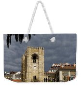 Bell Tower Against Roiling Sky Weekender Tote Bag