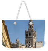 Bell Tower - Cathedral Of Seville - Seville Spain Weekender Tote Bag