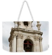 Bell Tower With Red   Weekender Tote Bag
