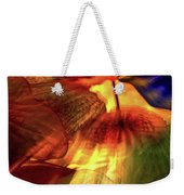 Bellagio Ceiling Sculpture Abstract Weekender Tote Bag