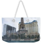 Bellagio Fountain 1 Weekender Tote Bag
