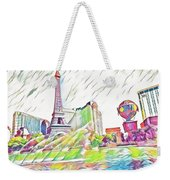 Bellagio Fountains Weekender Tote Bag