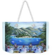 Bellagio From The Cafe Weekender Tote Bag