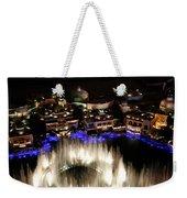 Bellagio Hotel Fountain Weekender Tote Bag