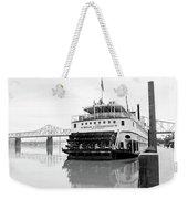 Belle Of Louisville Docked Weekender Tote Bag
