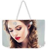 Belle Silk Weekender Tote Bag