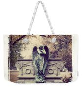 Bellefontaine Angel Polaroid Transfer Weekender Tote Bag by Jane Linders
