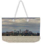 Bellevue Skyline Along Lake Washington Weekender Tote Bag