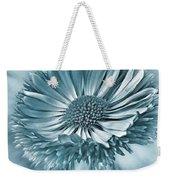 Bellis In Cyan  #flower #flowers Weekender Tote Bag