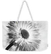 Bellis In Mono  #flower #flowers Weekender Tote Bag