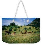 Bells And Cows Weekender Tote Bag