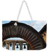 Bells Of Mission San Juan Capistrano Weekender Tote Bag