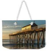 Belmar Fishing Pier Weekender Tote Bag